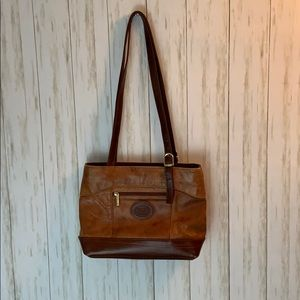 Valentino di Paolo Vintage Leather Shoulder Bag